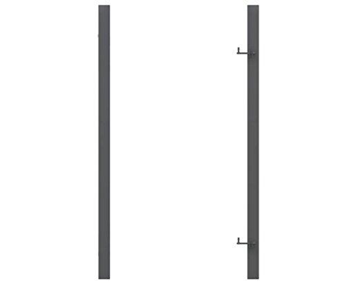 Torpfosten universal verwendbar in Metall verzinkt anthrazit mit 255cm - Pfosten für Sichtschutzwände, Elementhalter, Gartenpfosten, Zaunpfosten, Einschlaghülsen, Aufschraubhülsen, Pfosten zum einbetonieren, Pfosten für den Erdverbau, Pfostenträger, U Montageprofil, WPC Zubehör, Aufschraubpfosten, </p> --> großes Sortiment an Sichtschutz, Bambus, Schilf, Naturprodukte und Zubehör für Garten