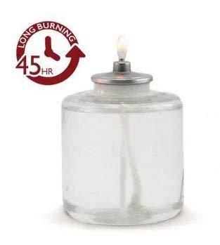 LUMEA Candele a Cera liquida spegnimento Automatico con ribaltamento - Set da 12 Pezzi