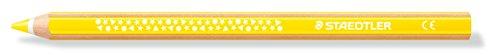 Staedtler 1287-1 Dicki Farbstift super jumbo, Sechskantform, 12 Stück im Kartonetu, gelb