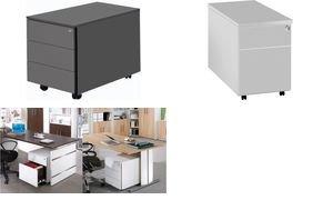 Preisvergleich Produktbild kerkmann Rollcontainer, 3 Schübe, anthrazit 4044917425101