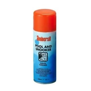 Ambersil Pool Snooker Table Cloth Cleaner 400ml Stain Remover by Ambersil