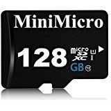 MiniMicro SDXC-Speicherkarte mit SD-Adapter, 128 GB, Klasse 10, 128 GB