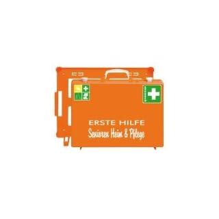 SÖHNGEN 360133 Erste-Hilfe-Koffer Senioren Heim & Pflege, orange, ASR A4.3/DIN 13157 aus Kunststoff
