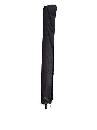 Madison hochwertige Schutzhülle #1 mit Stab für Sonnenschirme mit einem Durchmesser von 200 - 400 cm aus wetterfestem Polyestergewebe in grau