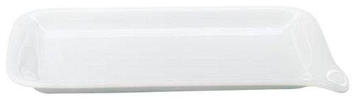 Kahla - Porcelaine pour les Sens 393334A90039C Five Senses Plateau Menu Moyen Blanc 28 x 19 cm