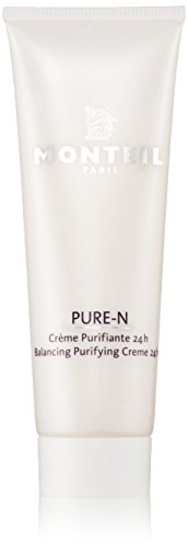 Monteil pure-N Balancing Purifying Creme 24h unisex, 50 ml, 1er Pack (1 x 0.072 kg)