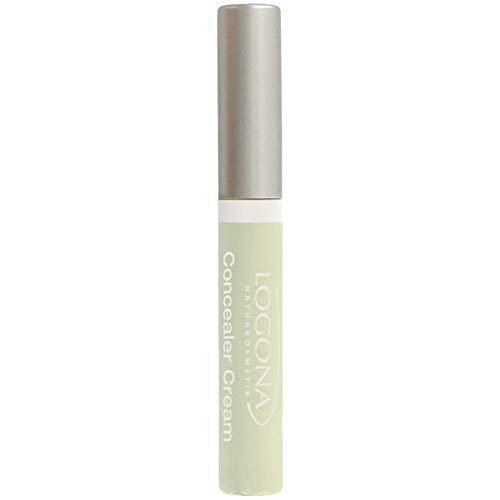 LOGONA Naturkosmetik Concealer Cream No. 03 Redness Neutralizer, Abdeckcreme für Rötungen, Natural Make-up, mit Anti-Aging-Wirkung, Bio-Extrakte, Vegan, 5 ml -