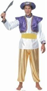 Costume stile principe sultano arabo genio della lampada