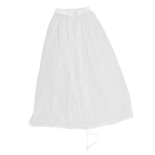 Fenteer 1 Ring Petticoat Krinoline Reifrock Unterrock für A Form Kleid, aus Chiffon