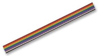 AMPHENOL SPECTRA-STRIP Ribbon Cable, Bonded, 10CORE, 30.5M 111-2803-010 -