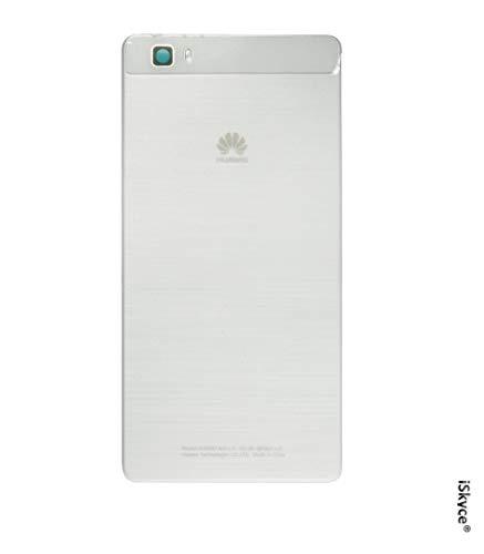 iSkyce 129E. Cache Batterie pour Téléphone Huawei P8 Ascend Blanc, Réparez Votre téléphon