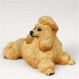 Pudel, apricot Original Hund Figur (4in-5in) -