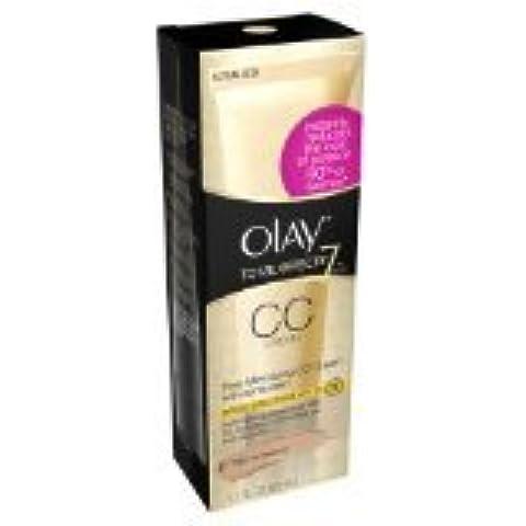 Olay Total Effects Pore Minimizing Cc Cream Light To Medium, 1.7 Fl Oz (Pack 2) by Olay