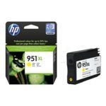 HP 951XL cartouche d'encre Original Jaune 1 pièce(s) - Cartouches d'encre (Original, Encre à pigments, Jaune, HP, HP Officejet Pro 8100 HP Officejet Pro 8600, 1 pièce(s))