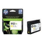 HP 951X L Original pigmentierte Tinte Patrone für Officejet Pro 251dw/276dw/8100/8600/8600N911a-Gelb - Pigmentierte Tinte Gelb