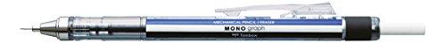 Tombow SH-MG Druckbleistift Mono graph mit Metallspitze, weiß/blau/schwarz