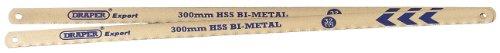 Draper Expert 38265 - Lame per sega ad archetto, 300 mm, bimetallo 32 TPI, 2 pezzi