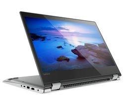 Lenovo Yoga 520 14 inch Full HD 2 in 1 Touchscreen Laptop/Tablet - Intel 4415U, 4GB RAM, 128GB SSD, Bluetooth 4.1, Webcam, Windows 10 (64-bit) - Grey (Certified Refurbished)