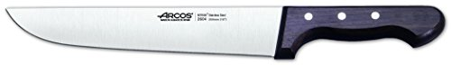 Arcos Palisandro - Cuchillo de carnicero, 250 mm (fundahoja)