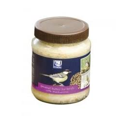 C J Wildlife Peanut Butter For Wild Birds With Mealworms 330g