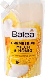 Balea Flüssigseife Milch & Honig Nachfüllpackung, 1 x 500 ml -