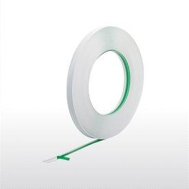 50m Flachleiste 35mm Kunststoff PVC Abdeckleiste mit Gummilippe