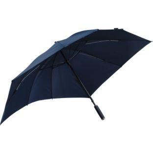 Twin Duo Oversized schwarz Regenschirm (ia446ii)