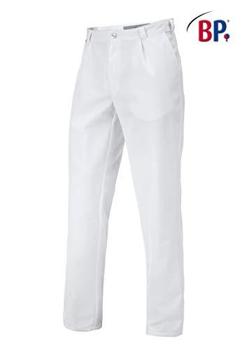 BP 1359-558 Herren Hose aus strapazierfähigem Mischgewebe weiß, Größe 48l