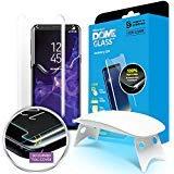 Verre Trempé Dome Glass Galaxy S9 - écran Protecteur Vitre, Anti Rayures, Sans Bulles D'air, Ultra Résistant Dureté 9H Film pour Samsung GalaxyS9