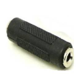adaptare 10136 vergoldete 3,5-mm-Klinke-Doppelkupplung Buchse auf Buchse Stereo