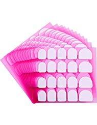 240 Pezzi Adesive per Unghie Punte di Unghie False Ispessenti Manicure Nastro Biadesivo Linguette Adesive per Accessori per Unghie Forniture per Saloni