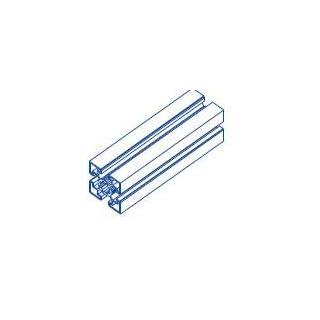 Alu-Profil 45x45 Nut 10 System S120 850 Aluminium-Konstruktion-Profile Strebenprofil Stangen Systemprofil Profile vom Profi (60)