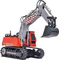 RC Auto kaufen Baufahrzeug Bild 3: Carson Modellsport Raupenbagger 1:26 RC Einsteiger Funktionsmodell Baufahrzeug inkl. Akku, Ladegerä*