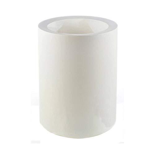 Vondom Cilindro Alto Vase diam. 40 h. 80 cm. Blanc