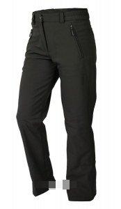 Hot-Sport Ontario Pantalon de Ski Softshell pour Femme Noir M Noir - Noir
