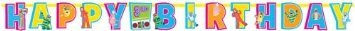 Yo Gabba Gabba Jumbo Add an Age Letter Banner Birthday Party Supplies