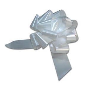 Sacchetto 50 granfiocco bianco 48mm diam 190mm bolis