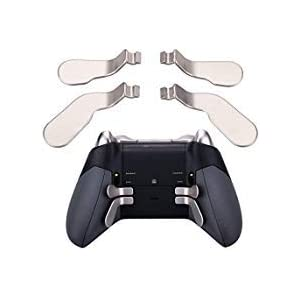 9CDeer 4 Stück Austauschbar Paddel Zurück T Rigger Magnet Metall Ersatz Teile NUR für Xbox One Elite Regler