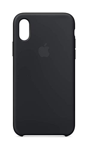 Apple Silikon Case (Iphone Xs) - Schwarz