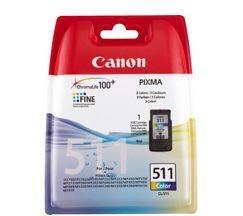Canon CL-511 Tintenpatrone 9ml, mehrfarbig