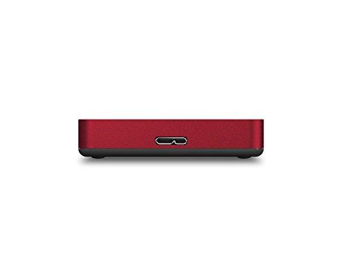 Buffalo MiniStation Safe HD-PNF1.0U3BR-EU 1TB externe Festplatte (2,5 Zoll, USB 3.0) rot