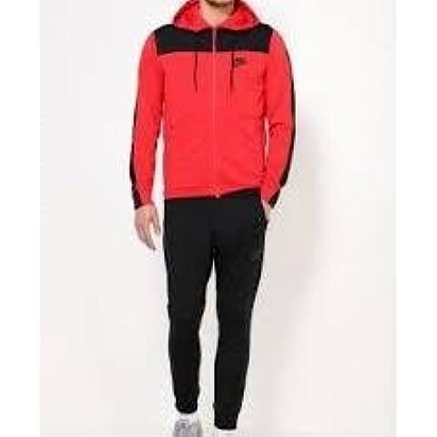 Nike M NSW Av15 TRK Suit PK - Chándal para hombre, color rojo, talla L