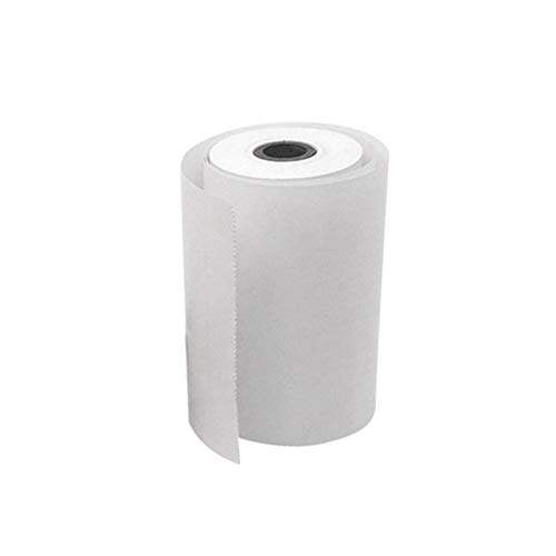 1 Roll Coreless Heat-sensitive Paper Canvas Mobile Pos Machine Paper  57x30mm Cash Register Paper Small Ticket Roll Paper