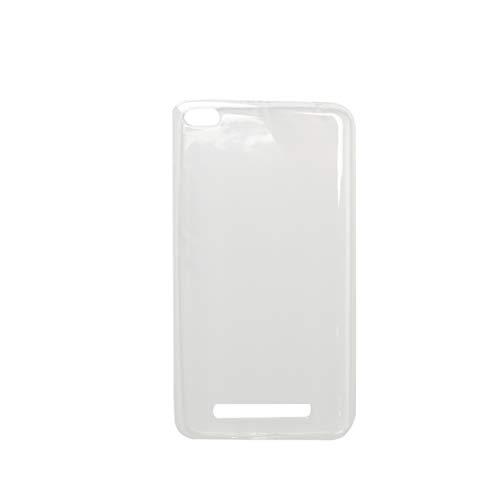 Zerama Schutzhülle für das Xiaomi Redmi 4A Starke transparentes weiches TPU Silikon Shell Cover Anti-Kratz Transparents Form Tpu Gel