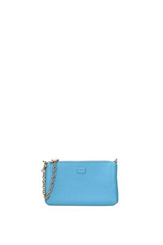 Schultertaschen Dolce&Gabbana Damen - Leder (BI0933AC675) Celeste