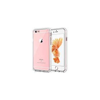 3f9491e053a11d JETech Case for Apple iPhone 6 Plus and iPhone 6s Plus, Shock-Absorption  Bumper Cover, Anti-Scratch Clear Back, HD Clear