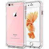 JETech Hülle für iPhone 6s Plus iPhone 6 Plus, Schutzhülle mit Anti-kratzt Transparente und Rückseite, HD Klar