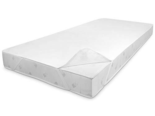 Doppelpack - Sandwich Matratzenauflage - Wasserdichte Inkontinenzauflage - in 7 unterschiedlichen Größen - Markenqualität Made in Germany, ca. 120 x 200 cm