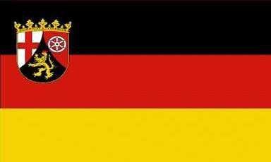 Rheinland pfalz drapeau 90 x 150 cm