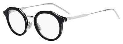 Dior Herren DIOR0216 807 47 Sonnenbrille, Schwarz (Black)